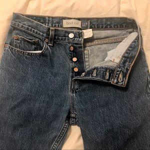 Vintage GAP • Boot Cut Denim Jeans